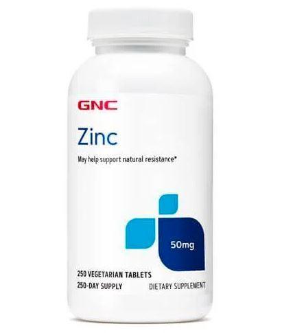 GNC Zinc 50 mg (250 таб.)