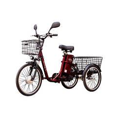 Электровелосипед Vega HAPPY 2019 (Red) (трицикл) + реверс!