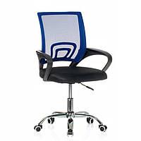 Кресло компьютерное молодежное SMART Синее