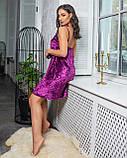 Сорочка фіолет, фото 2