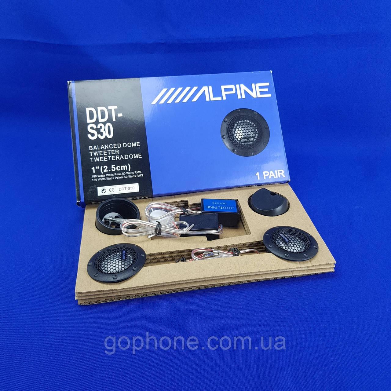 Рупора - пищалки для любого авто ALPINE DDT-S30