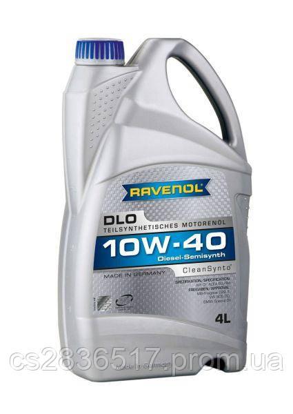 Масло моторное RAVENOL DLO 10W40 4L