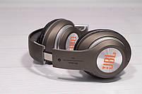Наушники беспроводные JBL V33 Bluetooth (навушники джи би ель) коричневый, фото 8