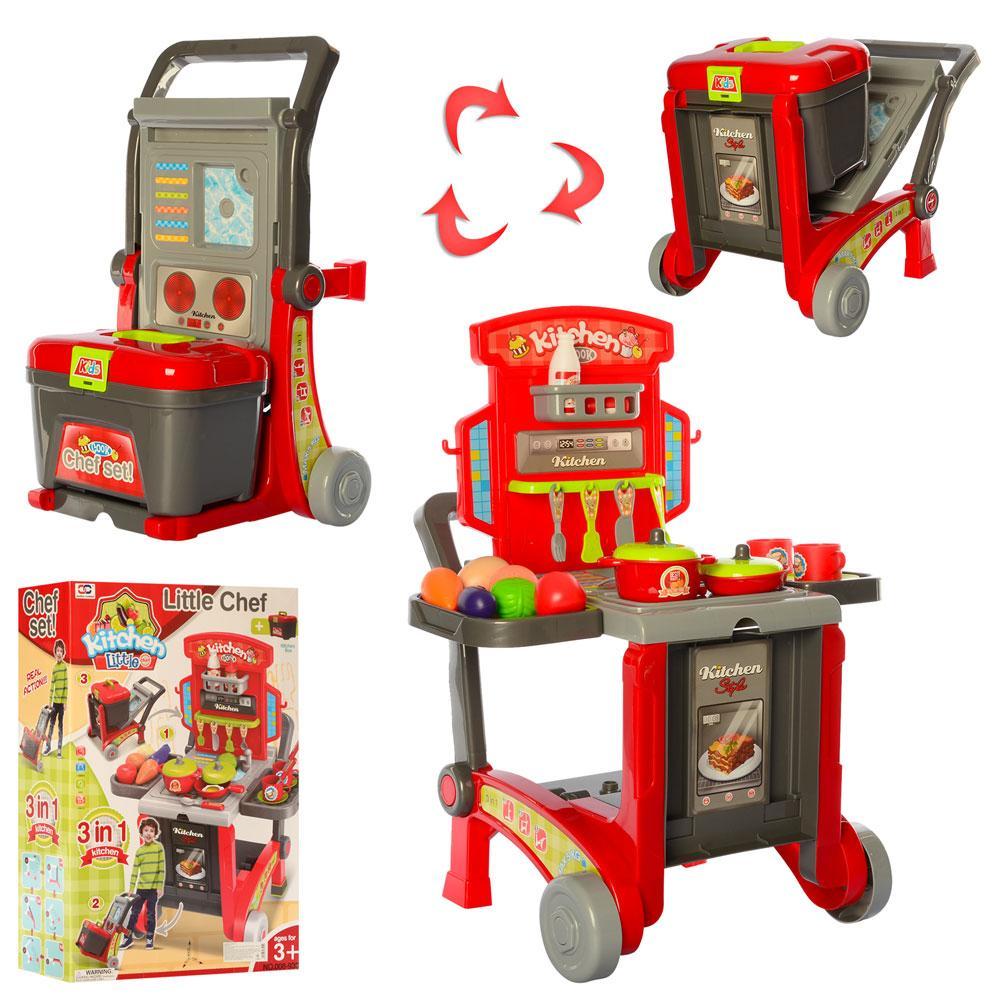 Дитяча кухня-трансформер на візку арт. 008-930