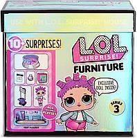 Ігровий набір L.O.L. Surprise! стильний інтер'єр Ролердром  Furniture Roller Rink with Roller Skater Doll, фото 1