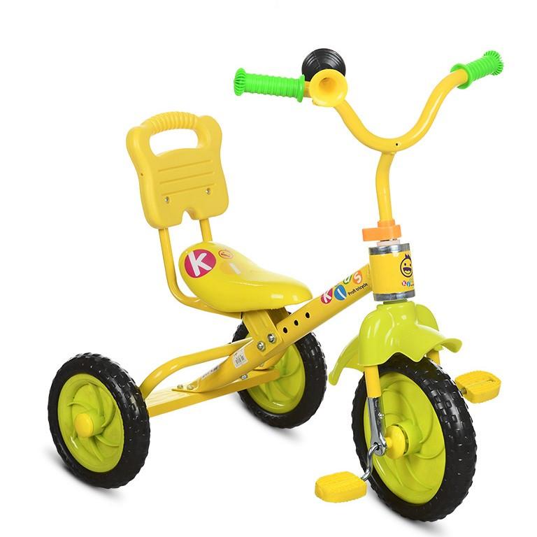 """*Дитячий велосипед """"Гномик"""" триколісний ProfiKids (ЖОВТИЙ) арт. 1190"""