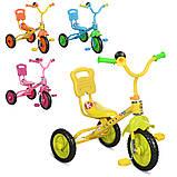"""*Дитячий велосипед """"Гномик"""" триколісний ProfiKids (ЖОВТИЙ) арт. 1190, фото 2"""
