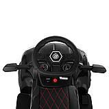 Електромобіль з батьківською ручкою Lamborghini (світло фар,музика) 3591L-2, фото 7
