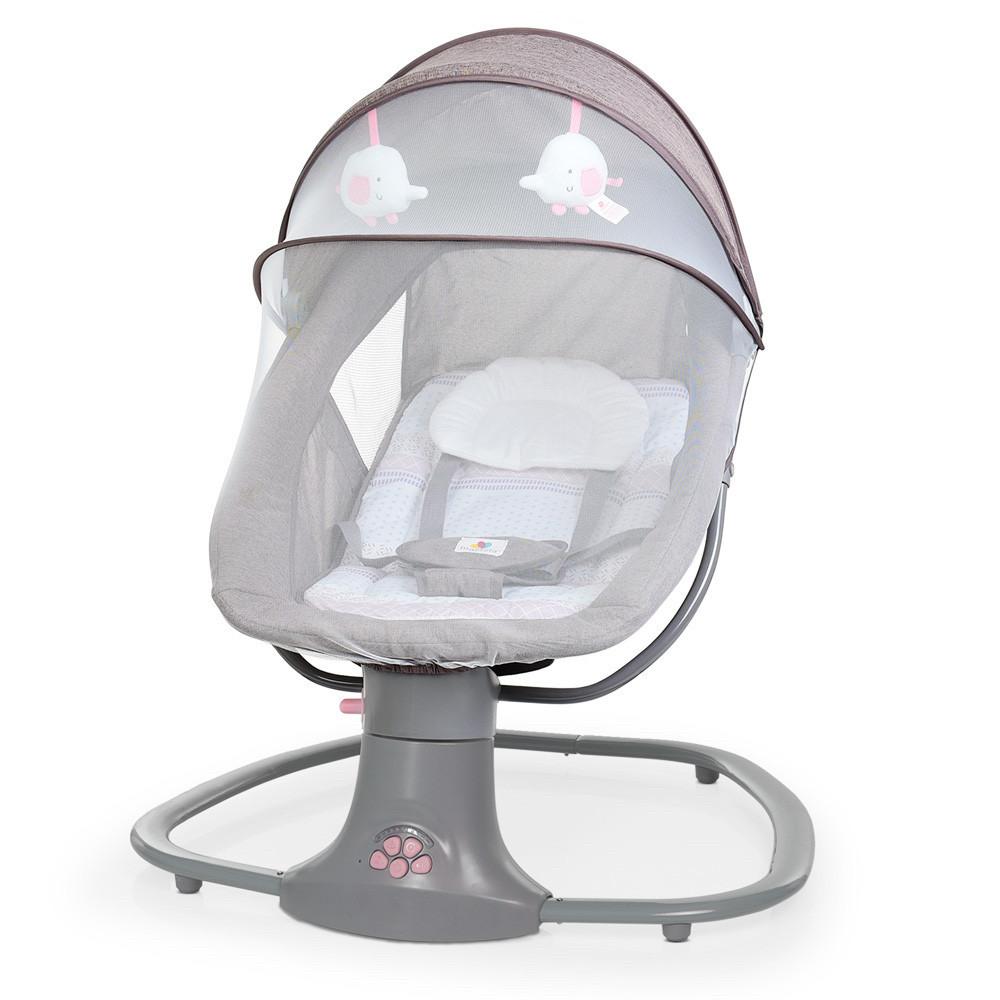*Укачивающий центр для малышей (шезлонг, качалка, качели) арт. 8106