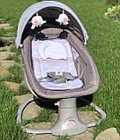 *Укачивающий центр для малышей (шезлонг, качалка, качели) арт. 8106, фото 3