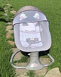 *Укачивающий центр для малышей (шезлонг, качалка, качели) арт. 8106, фото 4