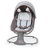 *Укачивающий центр для малышей (шезлонг, качалка, качели) арт. 8106, фото 5