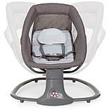 *Укачивающий центр для малышей (шезлонг, качалка, качели) арт. 8106, фото 7