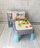 Игровой столик - песочница с конструктором арт. 555, фото 2