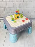 Игровой столик - песочница с конструктором арт. 555, фото 3