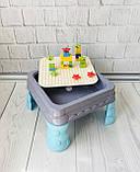Игровой столик - песочница с конструктором арт. 555, фото 4