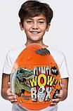 """Подарунковий набір для творчості """"Dino WOW Box"""" ПОМАРАНЧЕВИЙ арт. DWB-01-01, фото 4"""