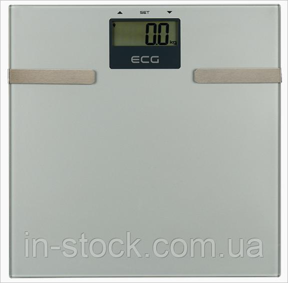Ваги побутові фітнес 5 в 1 ECG OV 126 Glass 150 кг.