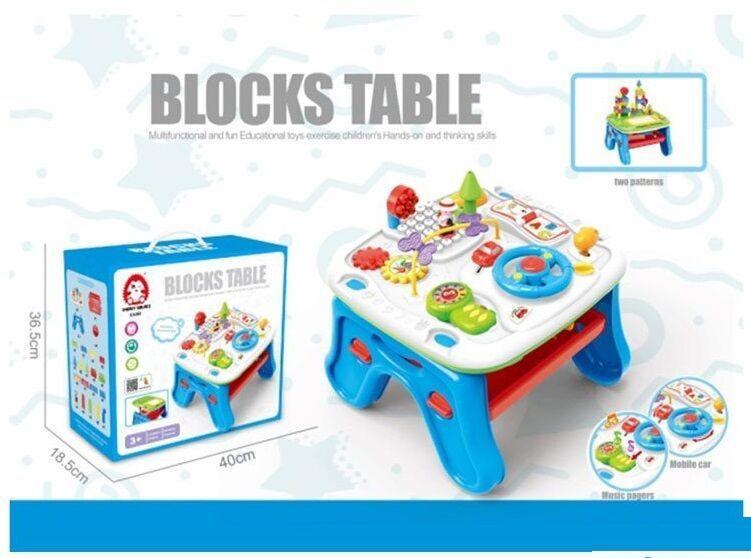 """Дитячий розвиваючий музичний столик """"Blocks table"""""""