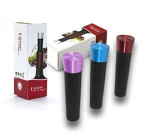 Вакуумна пробка для вина BST 720012 синя