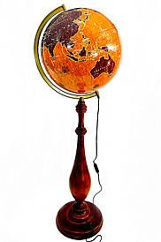 Глобус з підсвічуванням підлоговий 420 мм бароко вітрильники (рос.) BST 540168