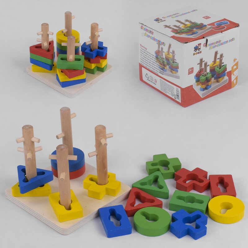 Деревянная игра С 39380 Лабиринт (100) в коробке
