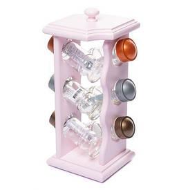 Набір для спецій рожевий 040502