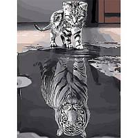 Картина по номерам 40х50 см DIY Отражение (NX 9229)