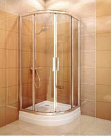 Душевая кабина Koller Pool Proxima Line PXR2N/900 профиль хром, стекло прозрачное + поддон Hawaii-P 900