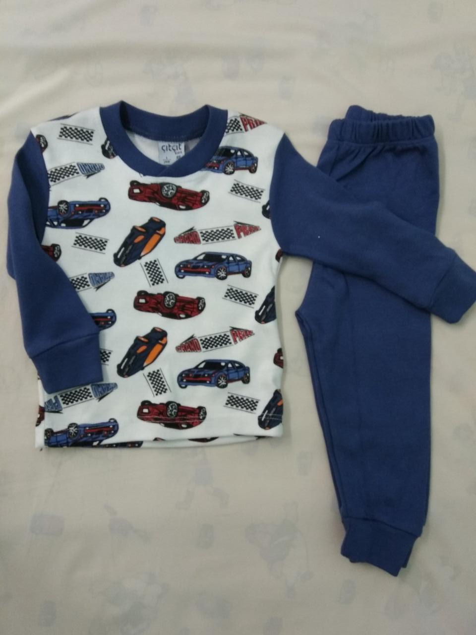 Пижама детская на мальчика 1- 4 года.