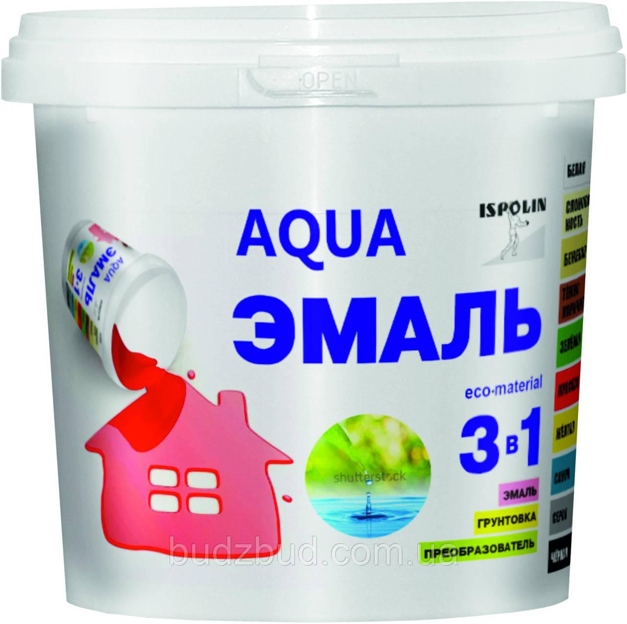 АКВАЭМАЛЬ 3В1 (Краска без запаха) 0.9 л
