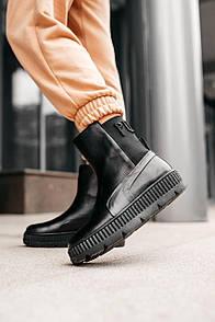 "Жіночі черевики PUMA FENTY BY R!HANNA CHELSEA SNEAKER B00T ""BLACK"""