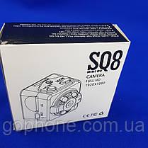 Портативная мини камера SQ8 Full HD с ночным видением, фото 2