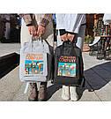 Рюкзак для девочки в японском стиле с аниме Хародзюку чёрный., фото 4