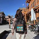 Рюкзак для девочки в японском стиле с аниме Хародзюку чёрный., фото 3