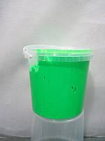Краска пластизольная флуоресцентная зеленая