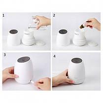 Увлажнитель-ароматизатор воздуха Baseus Creamy-white Aroma Diffuser ACXUN-02 White, фото 2