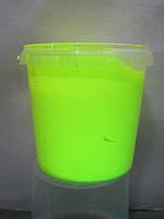 Краска пластизольная флуоресцентная лимонная