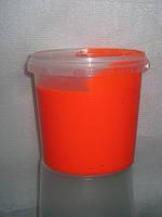 Краска пластизольная флуоресцентная оранжевая