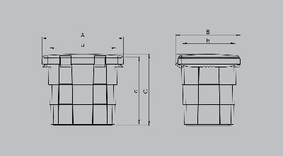 Ящик для песка PIT BOX