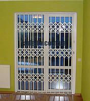 Раздвижные решетки на двери Шир.2000*Выс2200мм для квартиры