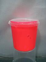 Краска пластизольная флуоресцентная розовая