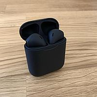 I12 TWS Черные Качественные Сенсорные Беспроводные Bluetooth наушники СУПЕРАКЦИЯ - 20%! ОПТ/Дроп/Розница