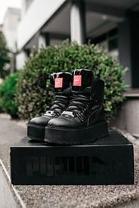 "Жіночі чоботи PUMA X FENTY BY RIHANNA SNEAKER BOOT ""BLACK"" 38"