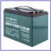 Тяговый аккумулятор LP 6-DZM-50 Ah свинцово-кислотный, фото 1