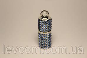 Usb флеш-накопитель серебристого цвета 32 ГБ, u-диск, алмазная цилиндрическая флэшка
