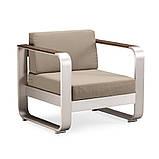 Комплект уличной плетеной мебели FAIRY из журнального столика и 2 кресел, фото 3