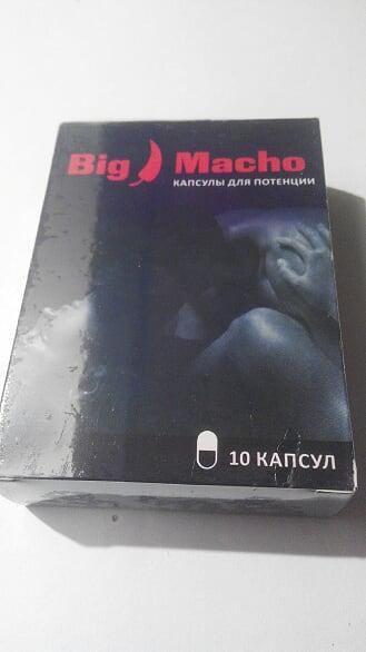 Big Macho - капсулы для потенции (Биг Мачо)