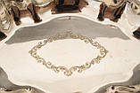 Винтажная посеребренная фруктовница на ножках, красивое посеребренное блюдо, серебрение, мельхиор, Англия, фото 2
