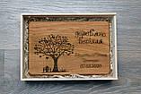 Набор для кухни. Деревянный блокнот, дубовая досточка, фартук и лопатка. (A001001), фото 5